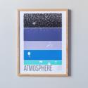 Brainstorm Print and Design - BS BS PRSM - Atmosphere Print, 11 x 14 inch