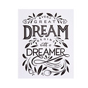 "Paper Epiphanies - PE Dreamer Art Print, 8x10"""