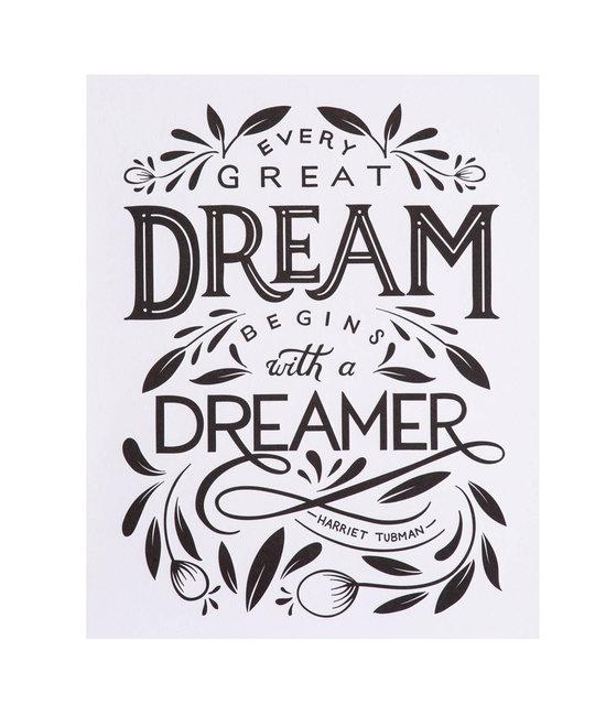 "Paper Epiphanies Dreamer Art Print, 8x10"""