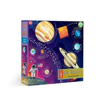 Eeboo - EE Eeboo - Solar Systems 64 Piece Puzzle