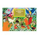 Eeboo - EE Eeboo - Woodland Rainbow Watercolor Pad