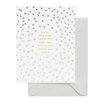 Sugar Paper - SUG Holiday Hopes and Wishes Card