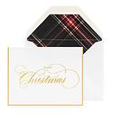 Sugar Paper - SUG Sugar Paper Christmas Tartan Card