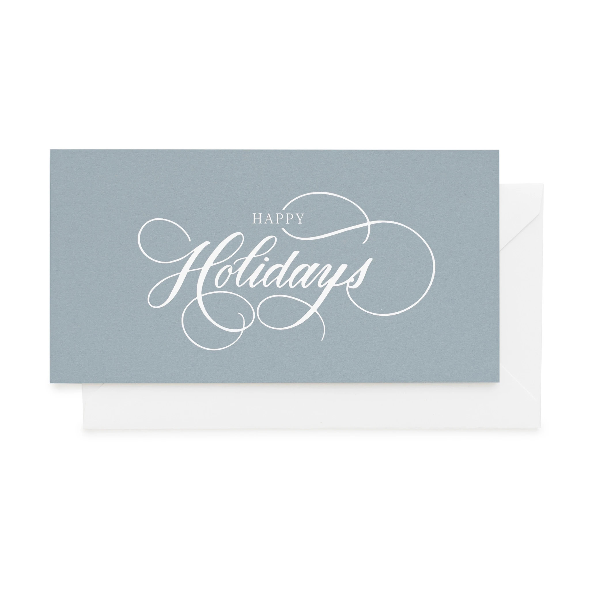 Sugar Paper - SUG Sugar Paper Happy Holidays Blue Card