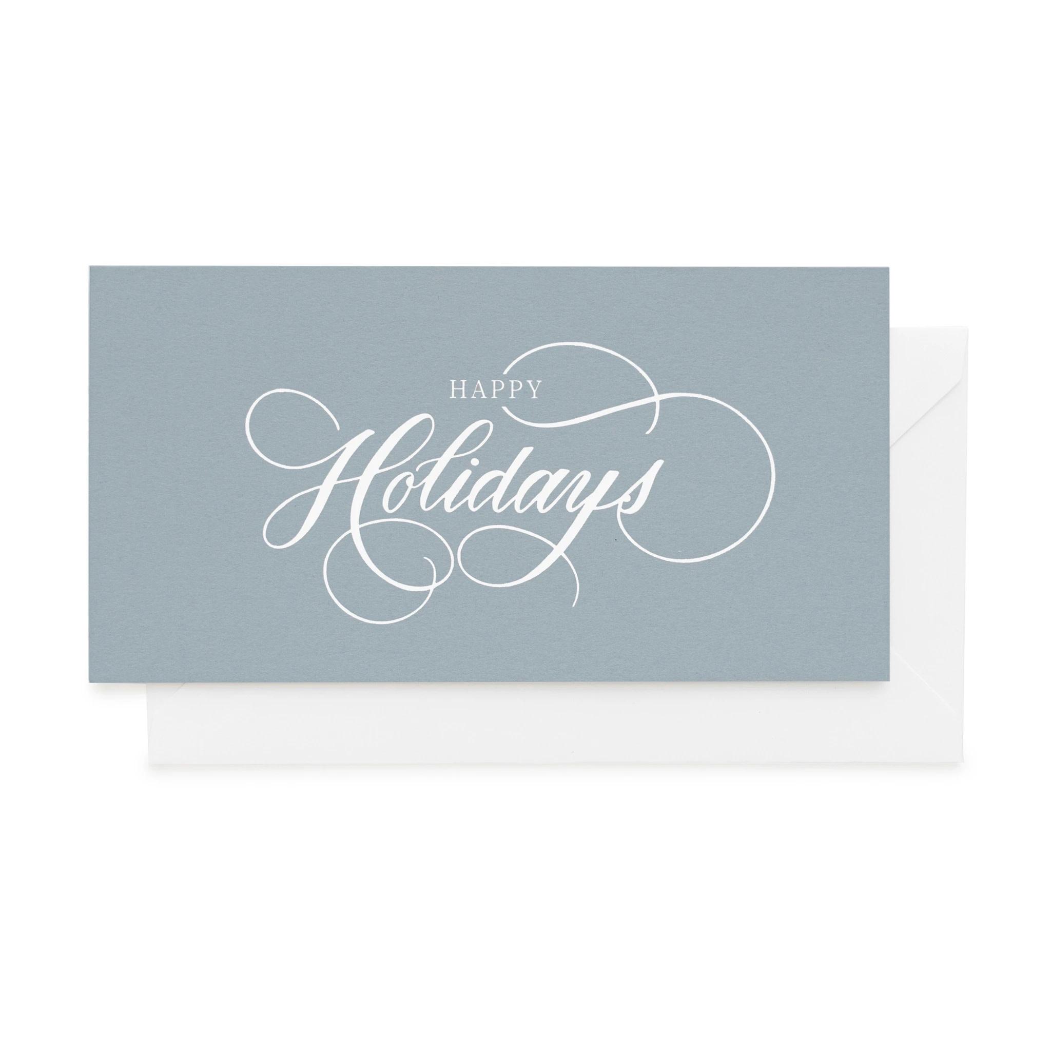Sugar Paper - SUG Sugar Paper Happy Holidays Blue Boxed Set