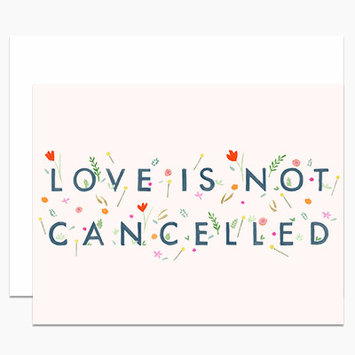 Dear Hancock - DH Love is Not Cancelled Card