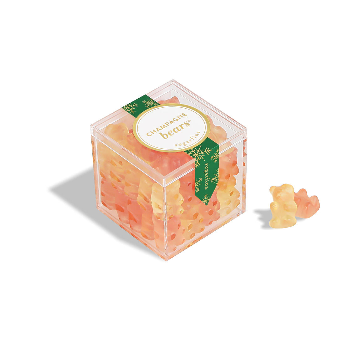 Sugarfina - SU Sugarfina -  Holiday Champagne Bears Small Cube