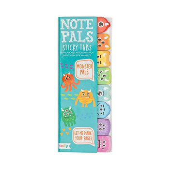 OOLY - OO Monster Note Pals Sticky Note Tabs