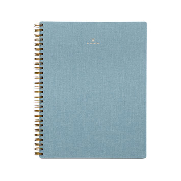 Appointed - APP Appointed - Chambray Blue Notebook,