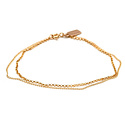 Favor Jewelry - FJ Gold Drape Bracelet