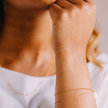 Favor Jewelry - FJ Gold Drape Bracelet