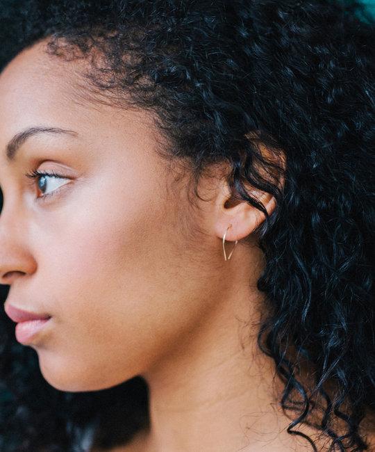 Favor Jewelry - FJ Mini Slip Hoop Earrings