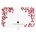 E. Frances Paper Studio - EF Red Berries Little Notes, set of 85