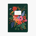 Rifle Paper Co - RP Garden Party Stitched Notebooks, Set of 3