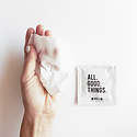 Happy Spritz - HP All Good Things Single Sanitizing Towelette