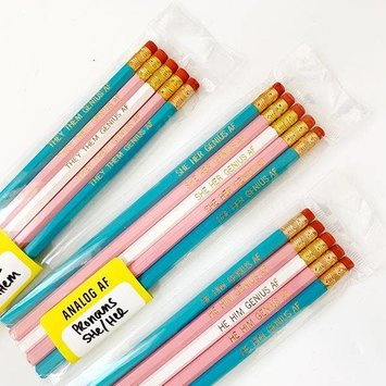 Calliope Pencil Factory - CPF Pronouns Pencil Set - Various Options