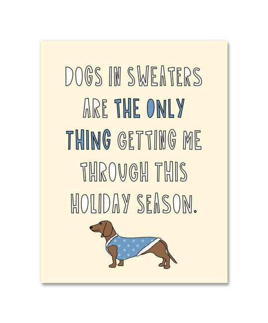 Near Modern Disaster - NMD Dogs In Sweaters, Set of 8