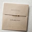 """Mai Lin Jewelry """"Grateful"""" Labradorite, Silk Cord Bracelet"""