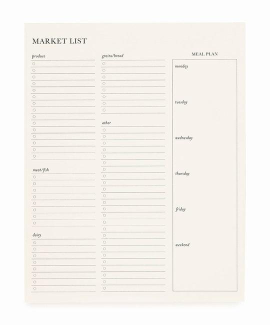 Sugar Paper - SUG Sugar Paper - Market List Pad
