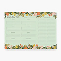 Rifle Paper Co - RP Rifle Paper - Citrus Floral Meal Planner Notepad