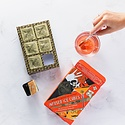 Herb and Lou's Infused Cubes HBI FAD - The Oliver: Unclassic Negroni Infused Cocktail Cubes