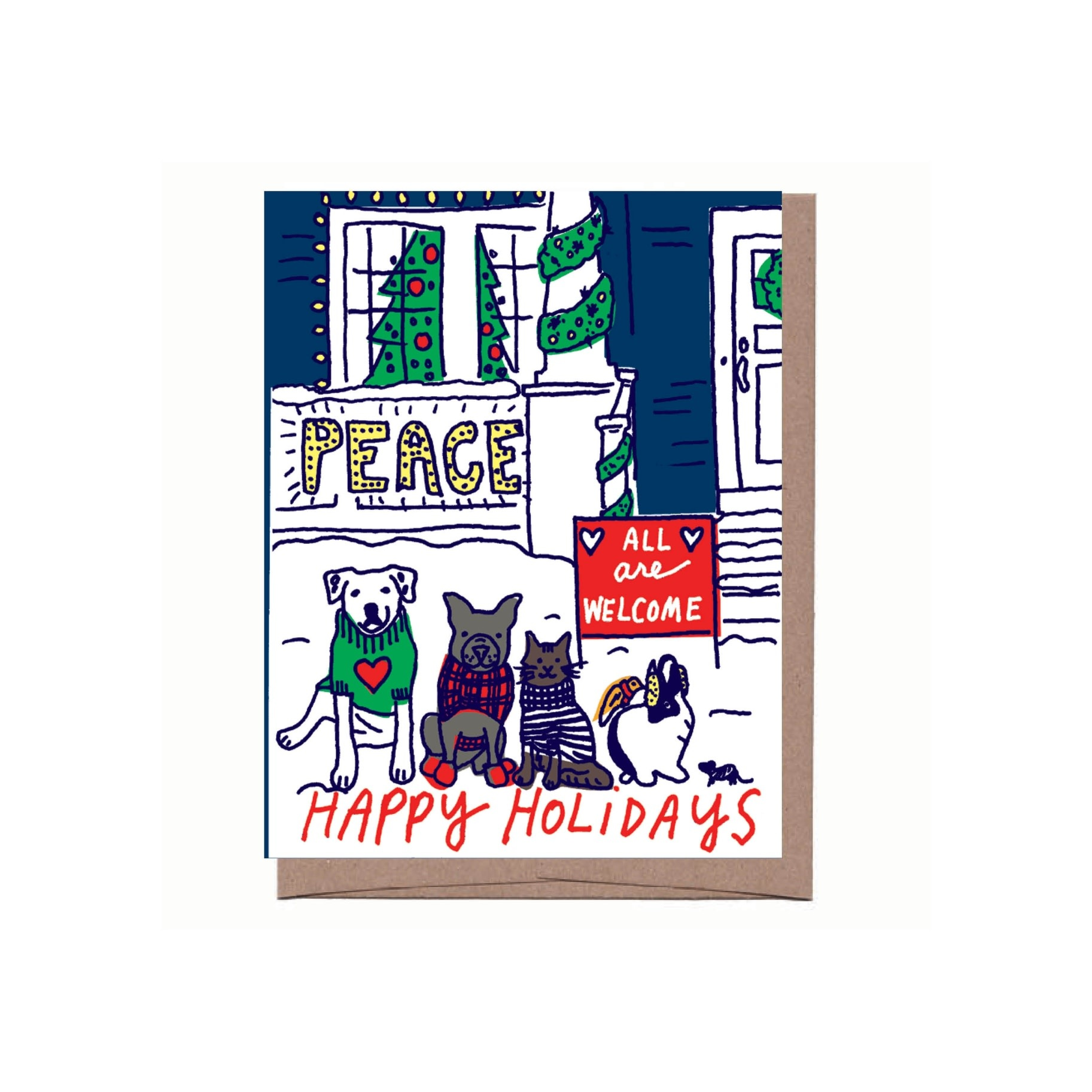 La Familia Green - LFG LFGGCHO0013 - All Are Welcome Holiday