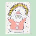 The Good Twin - TGT TGT NSHO - Rainbow Santa, Set of 6