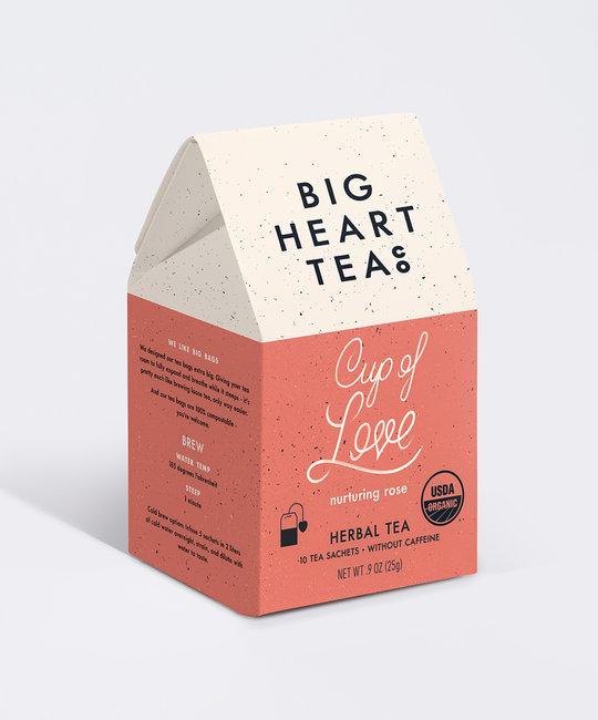 Big Heart Tea - BHT Big Heart Tea -  Cup of Love Tea Bags