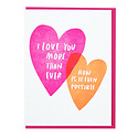 and Here We Are - AHW More Than Ever Card