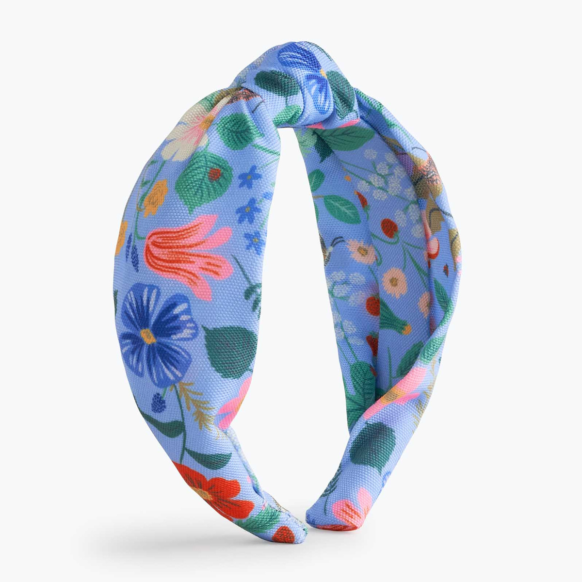 Rifle Paper Co - RP Rifle Paper Co - Strawberry Fields Knotted Headband