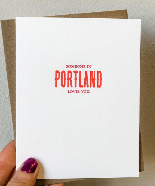 Sapling Press - SAP Someone in Portland Loves You