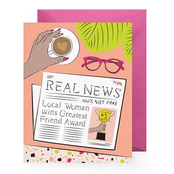 Boss Dotty Real News Card