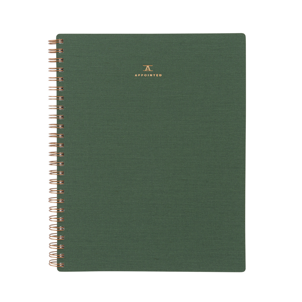 Appointed - APP Appointed - Fern Green Workbook, Dot Grid