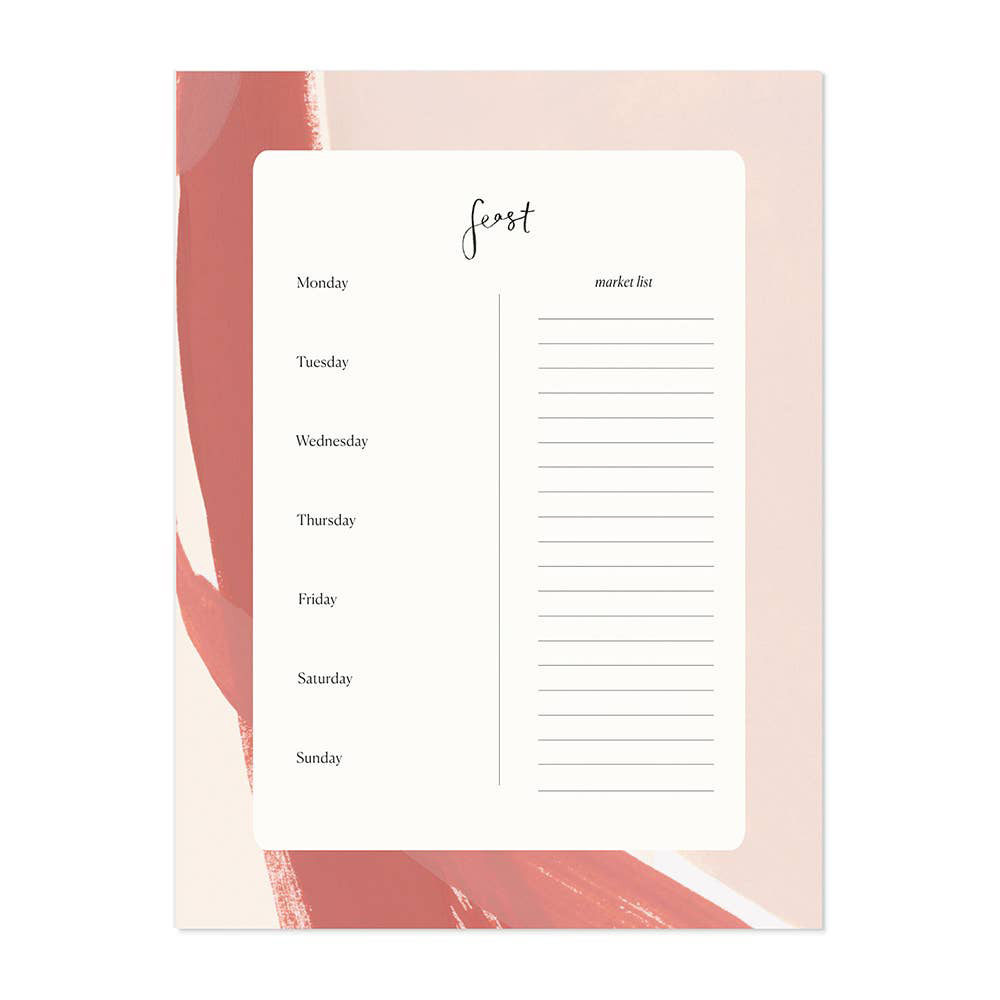 Our Heiday - OH Terra Cotta Feast Notepad