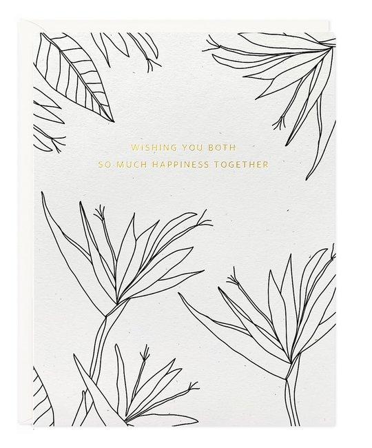 Ramona and Ruth - RR RRGCWE0001 - Wishing you Both Happiness Card