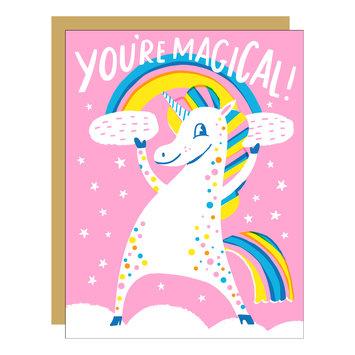 Hello!Lucky - HL You're Magical (Neon Unicorn) Card