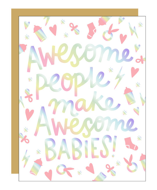 Hello!Lucky Awesome People make Awesome babies