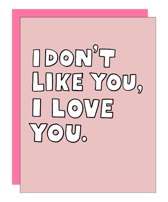 Ashkahn - AS I Don't Like You, I Love You