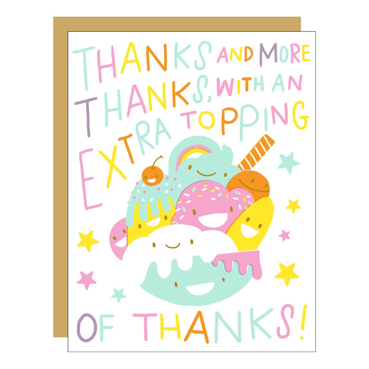 Hello!Lucky - HL Sundae Thanks Card