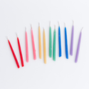 knot and bow KAB PS - Assorted Beeswax Birthday Candles