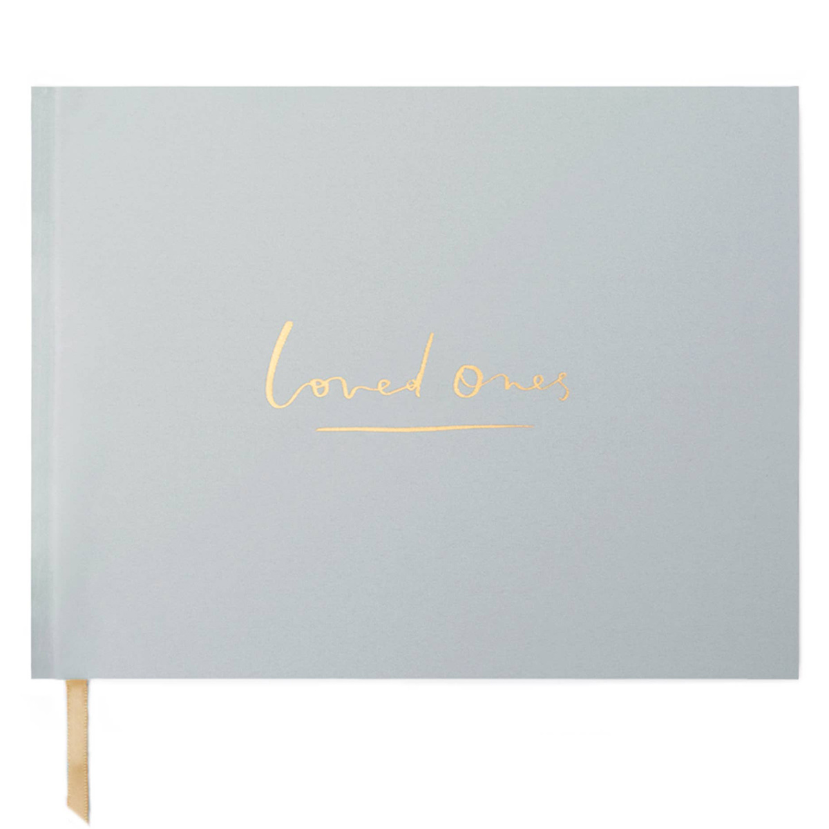 Our Heiday - OH Loved Ones Guestbook in Stone