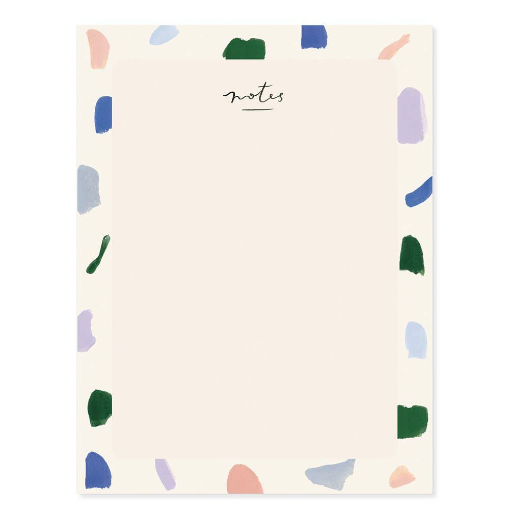 Our Heiday - OH Strokes Blank Everyday Notepad