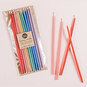 knot and bow Tall Assorted Beeswax Birthday Candles