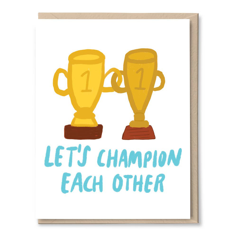 Tigerpocket Press - TPP Let's Champion Each Other