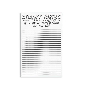 Tigerpocket Press - TPP Dance Party Notepad