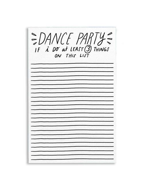 Tigerpocket Press - TPP Dance Party Notepad