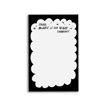 Tigerpocket Press - TPP Midnight Thoughts Notepad