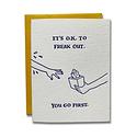 Ladyfingers Letterpress - LF It's O.K. To Freak Out