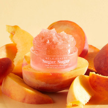 NCLA Beauty All-Natural Peach Lip Scrub
