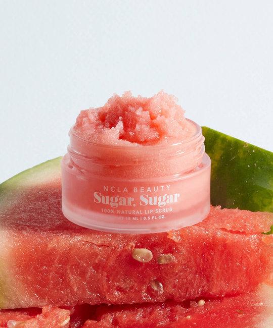 NCLA Beauty All-Natural Watermelon Lip Scrub